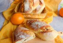 橙味乳酪面包的做法