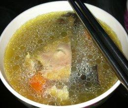 凤凰投胎养生暖胃汤的做法