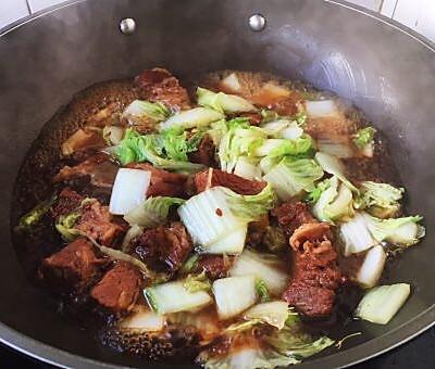 大白菜炖牛肉(附炖牛肉方法)的做法 步骤19
