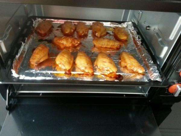 奥尔凉烤翅的做法