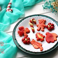 圣诞花样小馒头#福临门暖冬宴幸福面#