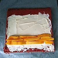 红丝绒蛋糕卷#相约MOF#的做法图解19