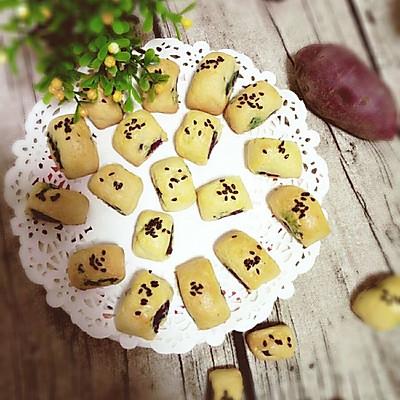 小小紫薯饼