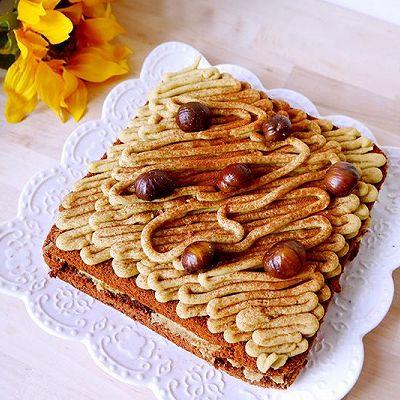 蒙布朗栗子蛋糕——幸福满满的当季甜品