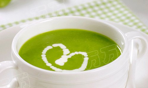 豌豆蚕豆浓汤的做法