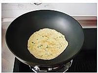 韭菜鸡蛋煎饼的做法图解7
