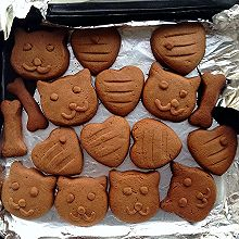 巧克力卡通饼干