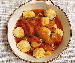 【番茄鸡胸肉丸】不能错过的减脂餐的做法