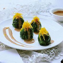 麻酱菠菜——滋香味美颜如玉,做给心仪的TA。