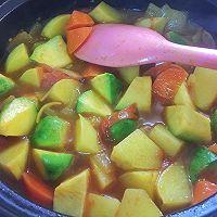 蔬菜蒸粗麦粉--塔吉锅菜谱的做法图解8