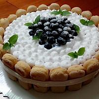 蓝莓栅栏芝士饼
