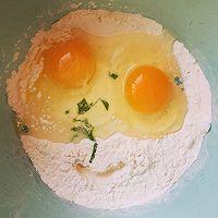 毫无难度鸡蛋饼的做法图解1