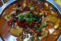 麻辣真菌鸡的做法