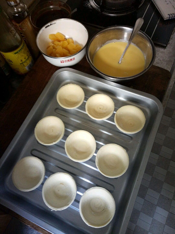 黄桃蛋挞的做法步骤