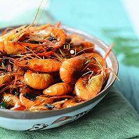 葱姜爆炒河虾:宴客下酒菜的做法图解13