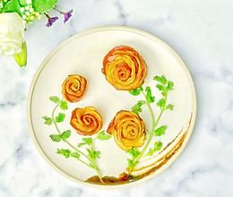 #肉食者联盟#培根土豆玫瑰花的做法