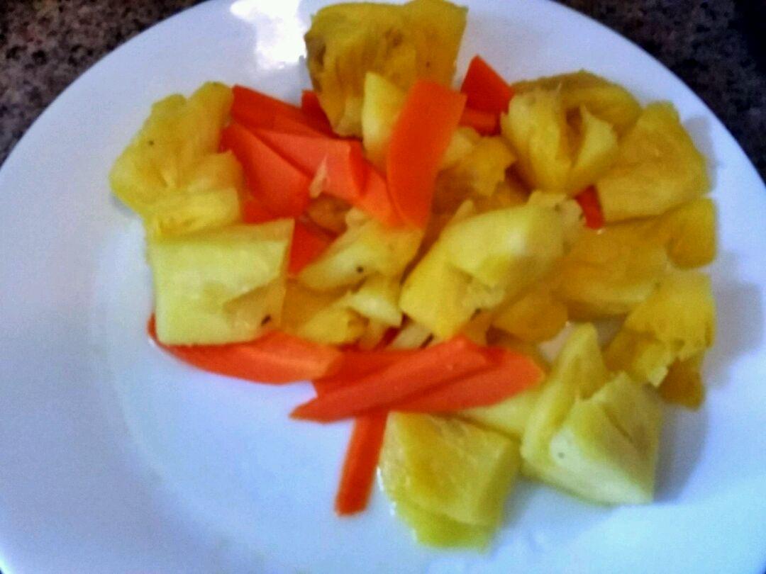 菠萝咕噜肉的做法图解5