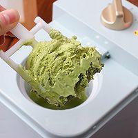 #豆果10周年生日快乐#抹茶冰淇淋的做法图解10