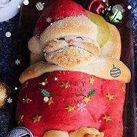 圣诞爷爷面包#圣诞烘趴 为爱起烘#的做法图解13