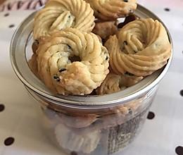 黑芝麻黄油饼干的做法