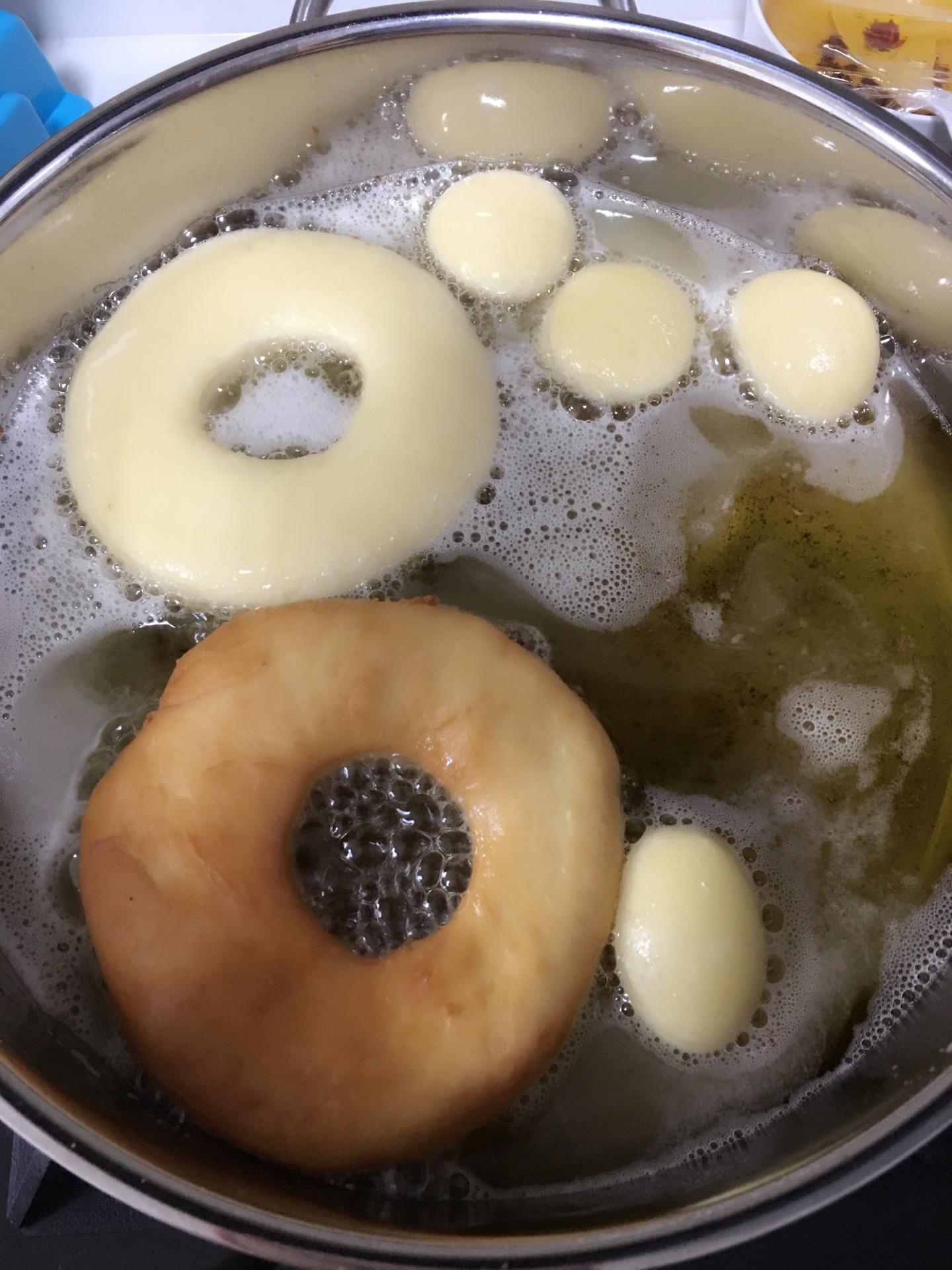 甜甜圈—冬日必备甜品的做法图解10