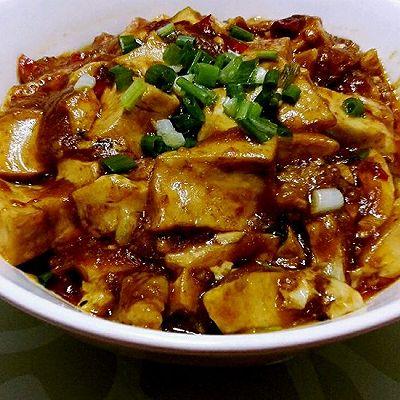简单好吃最下饭的红烧豆腐