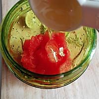 西瓜青柠饮#自己做更健康#的做法图解3