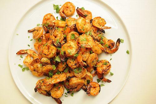 辣味烤虾的做法_【图解】辣味烤虾怎么做好吃_宣城