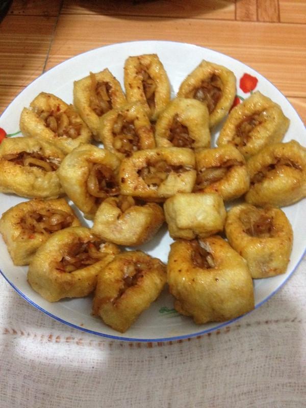 豆腐干夹萝卜丝的做法