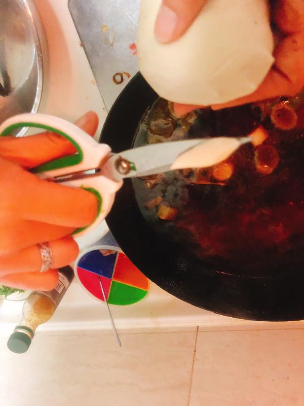 #母亲节,给妈妈做道菜#剪刀面这样吃最好吃