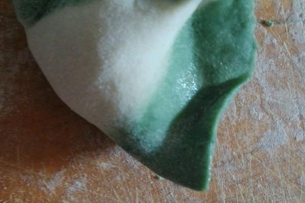 翡翠白菜饺子的做法