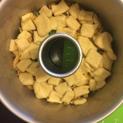 香葱培根肉松手撕面包的做法 步骤10