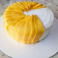 唯美芒果蛋糕#520,美食撩动TA的心!#的做法图解15