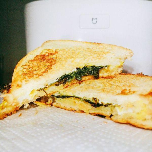 放置类料理:魔改三明治的做法