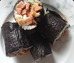 自己做的寿司的做法