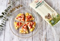 意式鲜虾面条披萨的做法