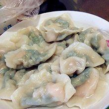 蛤蜊虾仁韭菜饺子