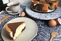 细腻柔软的可可原味双色戚风蛋糕 ukoeo高比克风炉的做法