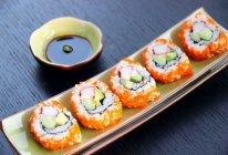 上班族的活力营养午餐 反卷寿司·加州卷·的做法