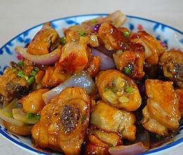 葱油焖鸡的做法