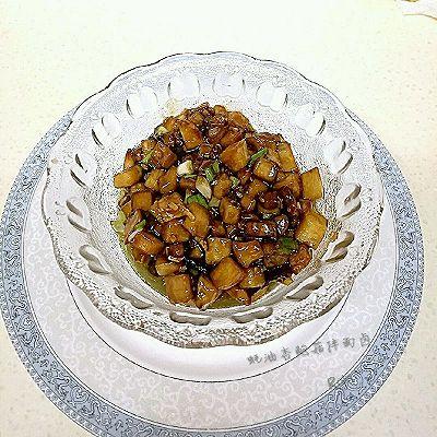 蚝油杏鲍菇拌面卤