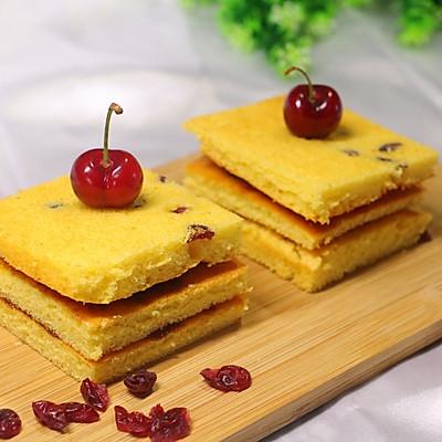 蔓越莓夹心蛋糕(简易零失败)