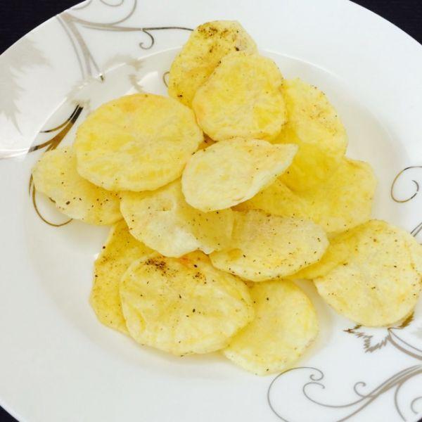 微波炉薯片的做法