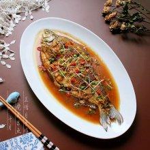 #秋天怎么吃#红烧武昌鱼