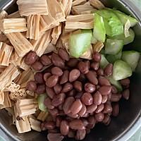 腐竹花生米拌黄瓜的做法图解7