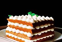 #带着美食去踏青#巧克力乳酪蛋糕的做法