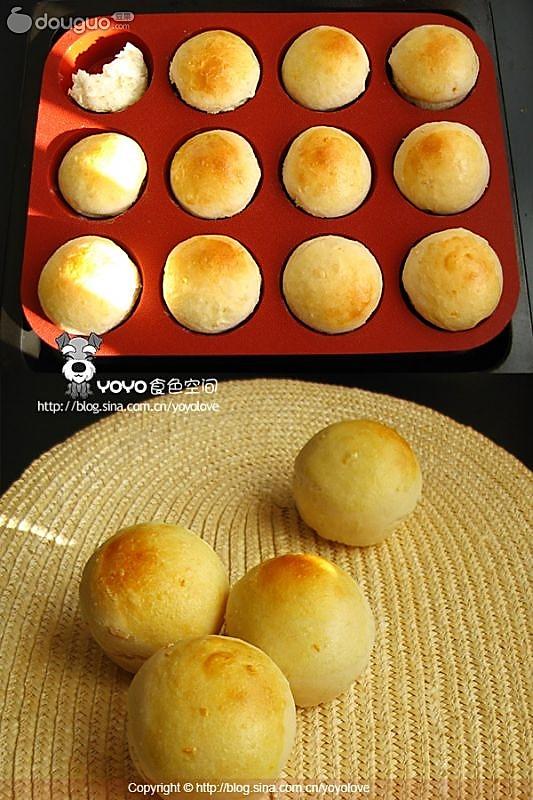 圆仔蛋面包的做法