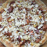 奥尔良鸡肉披萨非烤箱版的做法图解6