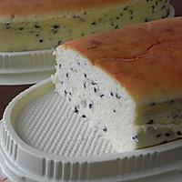 椰奶芝麻舒芙蕾芝士蛋糕