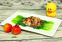 油菜香菇蒸鳕鱼   宝宝餐单的做法